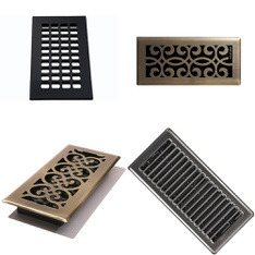 Pallet – 109 Pcs – Heaters, Accessories, Humidifiers / De-Humidifiers – Customer Returns – Decor Grates, Imperial, Vent Covers Unlimited, Hampton Bay