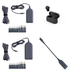 Pallet – 306 Pcs – Other, Power Adapters & Chargers, Over Ear Headphones, Keyboards & Mice – Customer Returns – onn., Onn, Withit, Speck