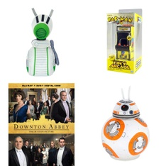 6 Pallets – 369 Pcs – Action Figures, Vehicles, Trains & RC, Blu-ray Discs, Stuffed Animals – Customer Returns – Star Wars, New Bright, NECA, Universal Studios