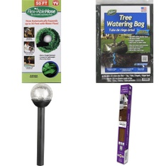 6 Pallets - 208 Pcs - Other, Patio & Outdoor Lighting / Decor, Accessories, Floor Care - Customer Returns - Flex Able Hose, Mainstays, Select Surfaces, Dalen