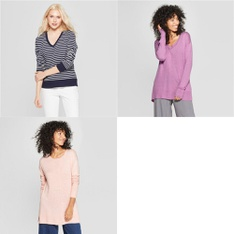 75 Pcs - T-Shirts, Polos, Sweaters & Cardigans - New - Retail Ready - A New Day