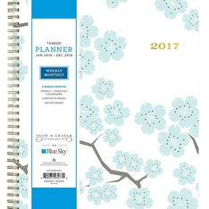 33 Pcs - Blue Sky 103277 2018 Weekly & Monthly Planner, Hardcover, Twin-Wire Binding, 8