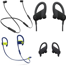71 Pcs – Apple Beats Headphones – Refurbished (GRADE D, No Packaging) – Models: MTH52LL/A, MREQ2LL/A, MWNV2LL/A, ML8V2LL/A