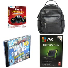 37 Pcs – Software – New – Retail Ready – Avanquest, AVG
