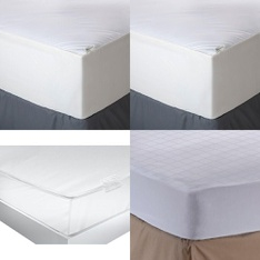 3 Pallets - 96 Pcs - Covers, Mattress Pads & Toppers, Camping & Hiking, Comforters & Duvets - Customer Returns - Aller-Ease, Bestway, American Textile, Mainstays
