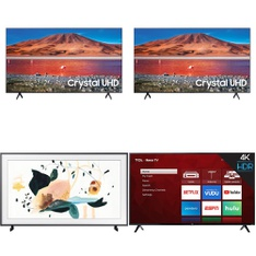 13 Pcs – LED/LCD TVs – Refurbished (GRADE C, GRADE D) – VIZIO, Samsung, TCL