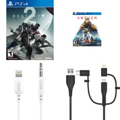 Pallet - 154 Pcs - Sony, Nintendo, Cables & Adapters, Security & Surveillance - Customer Returns - Activision Inc., onn., Electronic Arts, Legacy Games
