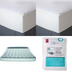 3 Pallets - 175 Pcs - Covers, Mattress Pads & Toppers, Comforters & Duvets, Camping & Hiking - Customer Returns - Mainstay's, Aller-Ease, Bestway, American Textile