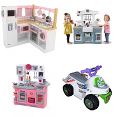 Pallet – 7 Pcs – Pretend & Dress-Up, Vehicles – Customer Returns – Step2, KidKraft, Avengers by Marvel, Paw Patrol