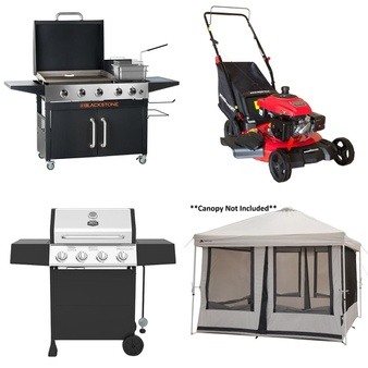 Truckload – 26 Pallets – 175 Pcs – Grills & Outdoor Cooking, Mowers, Outdoor Play, Camping & Hiking – Customer Returns – Ozark Trail, Blackstone, Expert Grill, PowerSmart