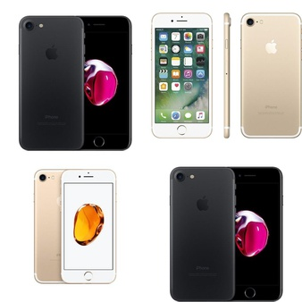 35 Pcs – Apple iPhone 7 – Refurbished (GRADE A – Unlocked) – Models: MN8G2LL/A, MN8J2LL/A, MN8N2LL/A, MN8L2LL/A