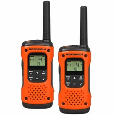 27 Pcs - Motorola T503 Talkabout H2O Rechargeable 2-way Radio (2 Pack) - Used, Open Box Like New, Like New - Retail Ready