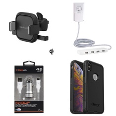 Clearance! 39 Pcs - Cellular Phone Accessories - Used, Like New - Retail ready - Blackweb, Belkin, Cellet, GE