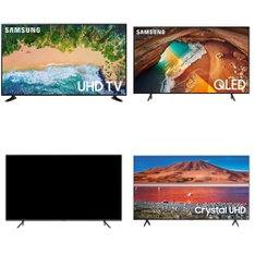 6 Pcs – LED/LCD TVs – Refurbished (GRADE A) – Samsung