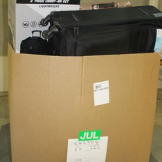 Pallet - 9 Pcs - Luggage - Customer Returns - iFly, Protege