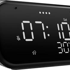 50 Pcs - Lenovo ZA740005US Smart Clock Essential - Soft Touch Gray - Refurbished (GRADE A, GRADE B)
