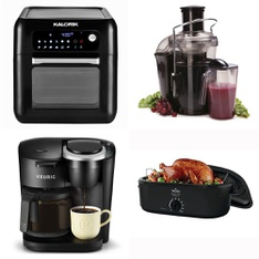 Pallet - 49 Pcs - Food Processors, Blenders, Mixers & Ice Cream Makers, Toasters & Ovens, Kettles & Ice Tea Makers - Customer Returns - Keurig, Hamilton Beach, Toastmaster, Salton