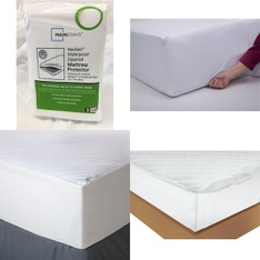 Pallet – 58 Pcs – Covers, Mattress Pads & Toppers, Comforters & Duvets – Customer Returns – Mainstay's, Mainstays, Aller-Ease, AllerEase