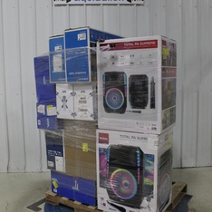 Pallet – 16 Pcs – Speakers, Portable Speakers – Tested NOT WORKING – Onn, Samsung, Ion, Protocol