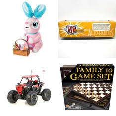 3 Pallets – 174 Pcs – Vehicles, Trains & RC, Powered, Boardgames, Puzzles & Building Blocks – Customer Returns – New Bright, Zoomer, Paw Patrol, Cardinal