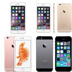 CLEARANCE! 9 Pcs - Apple iPhones - Refurbished (GRADE A, GRADE B, GRADE C - Unlocked) - Models: NGAH2LL/A, MGCR2LL/A, 3A551LL/A, 3A065LL/A