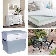 Pallet – 15 Pcs – General Merchandise – Customer Returns – Mainstay's, Linenspa, LUCID, Homelegance