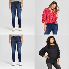 250 Pcs - T-Shirts, Polos, Sweaters & Cardigans, Jeans, Pants, Legging & Shorts - New - Retail Ready - Universal Thread, A New Day, Isabel Maternity by Ingrid & Isabel