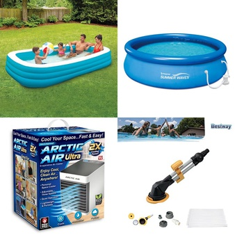 Truckload – 711 Pcs – Pools & Water Fun, Camping & Hiking, Humidifiers / De-Humidifiers, Outdoor Sports – Customer Returns – Play Day, As Seen On TV, PolyGroup, Coleman