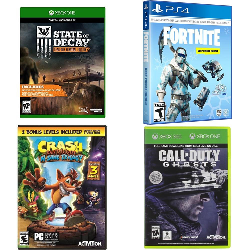 47 Pcs Video Games New State Of Decay Xb1 Crash N Sane