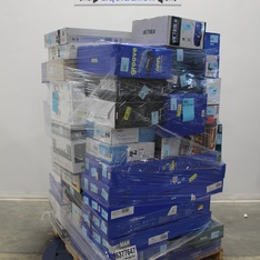 Pallet – 80 Pcs – Speakers, Lamps, Parts & Accessories, Receivers, CD Players, Turntables – Customer Returns – Onn, OmniMount, CROSLEY