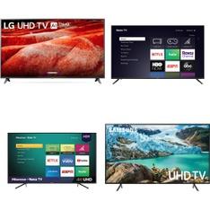 12 Pcs – LED/LCD TVs – Refurbished (GRADE A, GRADE B) – VIZIO, Onn, TCL, LG