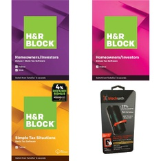 Pallet – 661 Pcs – Software, Other, Blu-ray Discs, Over Ear Headphones – Customer Returns – H&R Block, Blackweb, Onn, Monster