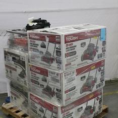 Pallet - 6 Pcs - Lawn Mowers - Customer Returns - Hyper Tough, Murray