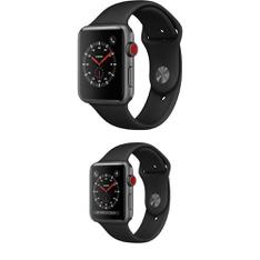 25 Pcs – Generation 3 Apple Watch – 42MM – Cell – Refurbished (GRADE A) – Models: MTGT2LL/A, MQK22LL/A