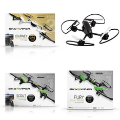 Pallet - 43 Pcs - Drones & Quadcopters - Tested NOT WORKING - Sky Viper, SHARPER IMAGE, Skyrocket, Propel