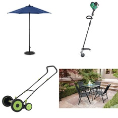 Pallet - 11 Pcs - Accessories, Patio - Customer Returns - HomeTrends, Mainstay's, Weed Eater, Better Homes & Gardens