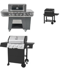 Pallet – 3 Pcs – Grills & Outdoor Cooking – Customer Returns – Backyard Grill, Cuisinart