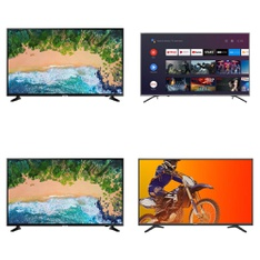 Truckload - 20 Pallets - 214 Pcs - TVs - Tested Not Working - Samsung, RCA, HISENSE, TCL