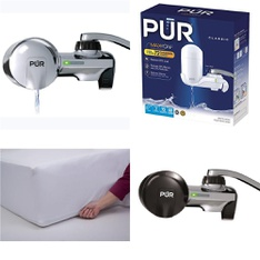 6 Pallets – 249 Pcs – Kitchen & Dining, Hardware, Covers, Mattress Pads & Toppers, Power Tools – Customer Returns – PUR, Kaz, Mainstays, SentrySafe