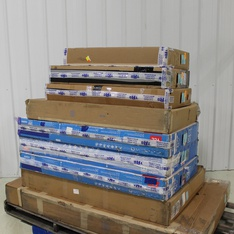4 Pallets – 28 Pcs – TVs – Tested NOT WORKING (Cracked Display) – VIZIO, TCL, Onn, Samsung