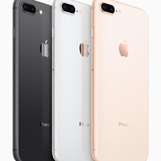 5 Pcs - Apple iPhone 8 Plus 64GB - Unlocked - Certified Refurbished (GRADE B)