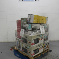 Pallet - 13 Pcs - Toasters & Ovens, Microwaves - Tested NOT WORKING - Farberware, Hamilton Beach, Dyson, Oster