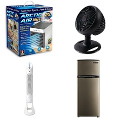 3 Pallets - 162 Pcs - Humidifiers / De-Humidifiers, Fans, Camping & Hiking, Hunting - Customer Returns - As Seen On TV, Helen of Troy Health & Home, Coleman, Helen of Troy