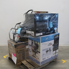 Pallet - 7 Pcs - Pressure Washers, Office - Customer Returns - Simpson, RESPAWN
