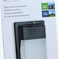 13 Pcs – Honeywell LED Security Wall Light – New – Retail Ready