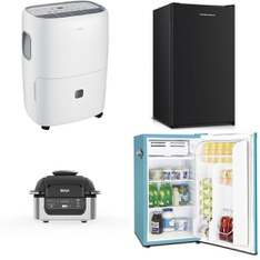 Pallet – 11 Pcs – Microwaves, Humidifiers / De-Humidifiers – Customer Returns – Hamilton Beach, TCL, Frigidaire, Sunbeam