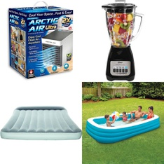 Truckload - 1429 Pcs - Camping & Hiking, Vehicles, Trains & RC, Pools & Water Fun, Food Processors, Blenders, Mixers & Ice Cream Makers - Customer Returns - As Seen On TV, Bestway, Oster, Play Day
