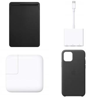 250 Pcs – Apple Accessories – Customer Returns – Models: MPU62ZM/A, MQGJ2AM/A, MMX62AM/A, MR2A2LL/A