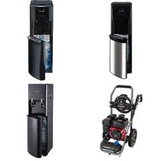 3 Pallets – 23 Pcs – Bar Refrigerators & Water Coolers, Freezers – Customer Returns – Primo, Primo Water, Igloo
