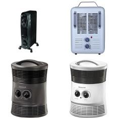 12 Pallets - 599 Pcs - Heaters, Fans, Accessories - Customer Returns - Mainstay's, Honeywell, Lasko, Utility